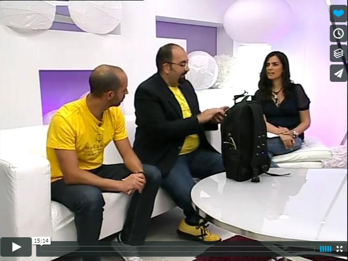 #Imagine7Islands entrevista en El Día TV