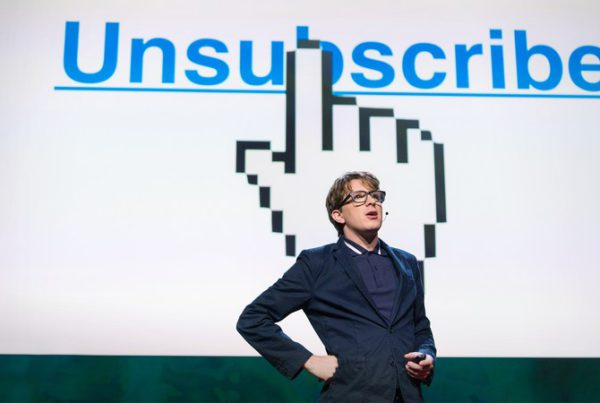 The agony of trying to unsubscribe - James Veitch